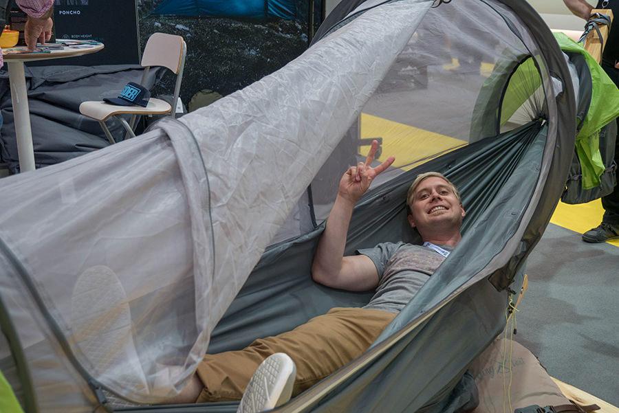 Outdoortrends 2018 - Outdoor Friedrichshafen - Flying Tent
