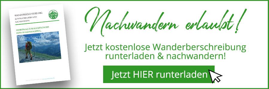 Walmendinger Horn Wanderbeschreibung Banner