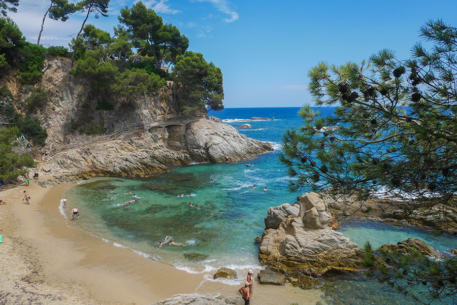 Wandern Costa Brava - GR 92 - Bucht 2