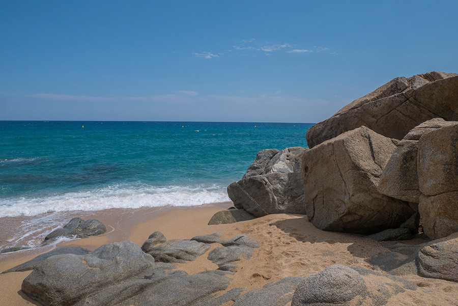 Wandern Costa Brava - GR 92 - Felsen