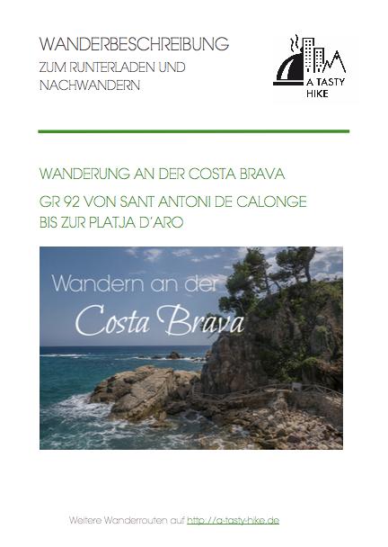 Wandern Costa Brava - GR 92 - Wanderbeschreibung