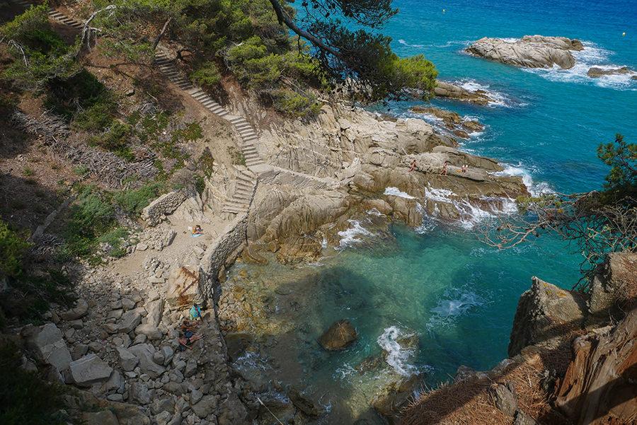 Wandern Costa Brava - GR 92 - kleine Bucht