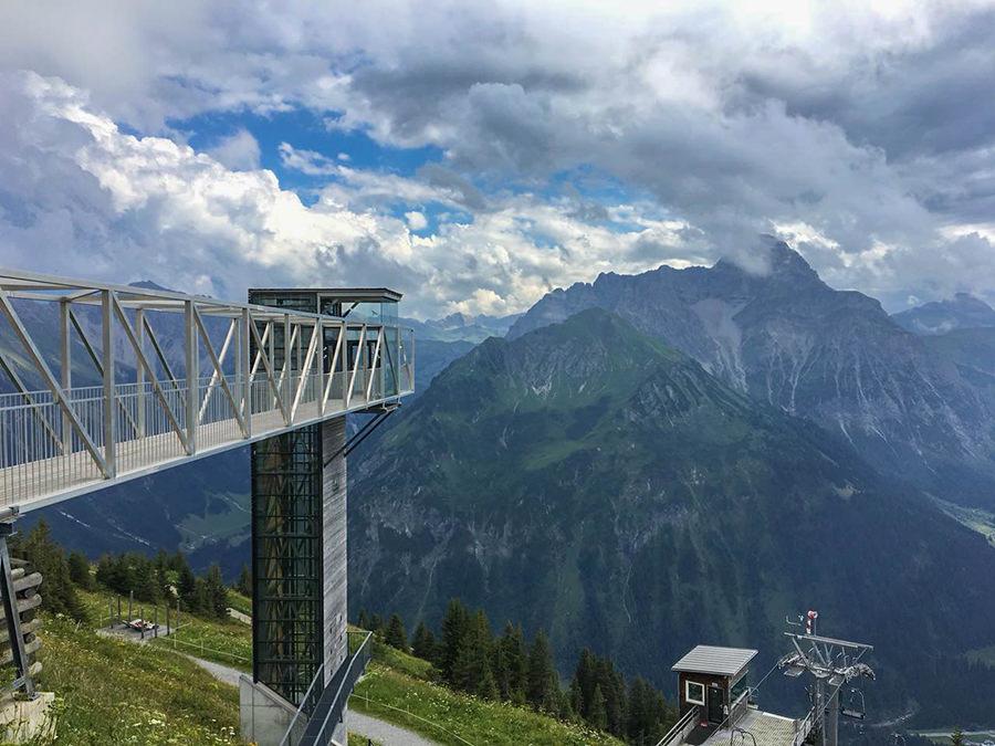 Wanderung zum Walmendinger Horn im Kleinwalsertal - Aussichtspunkt