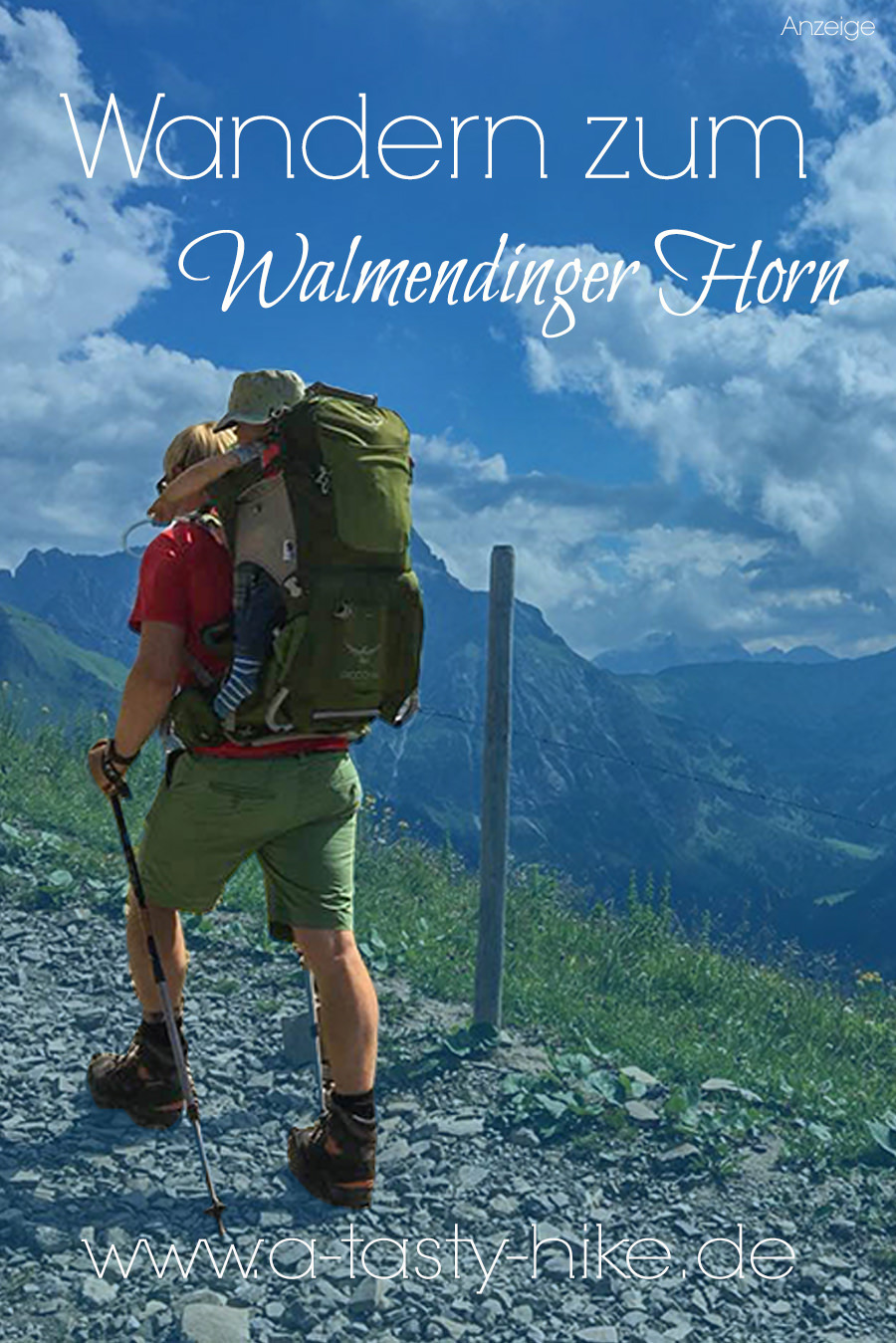 Wanderung zum Walmendinger Horn im Kleinwalsertal - Pinterest