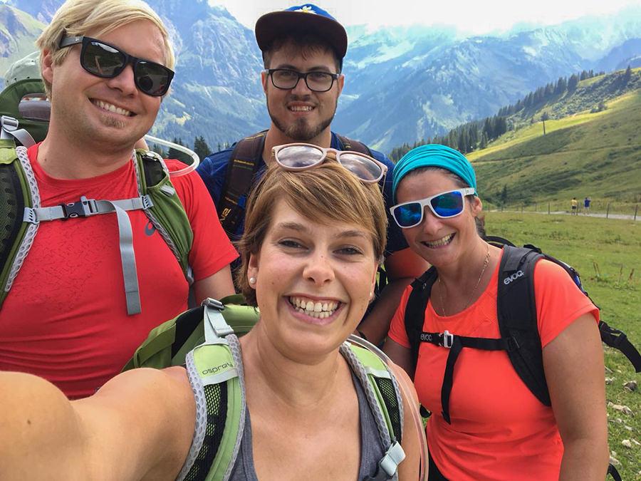 Wanderung zum Walmendinger Horn im Kleinwalsertal - Wanderfreunde
