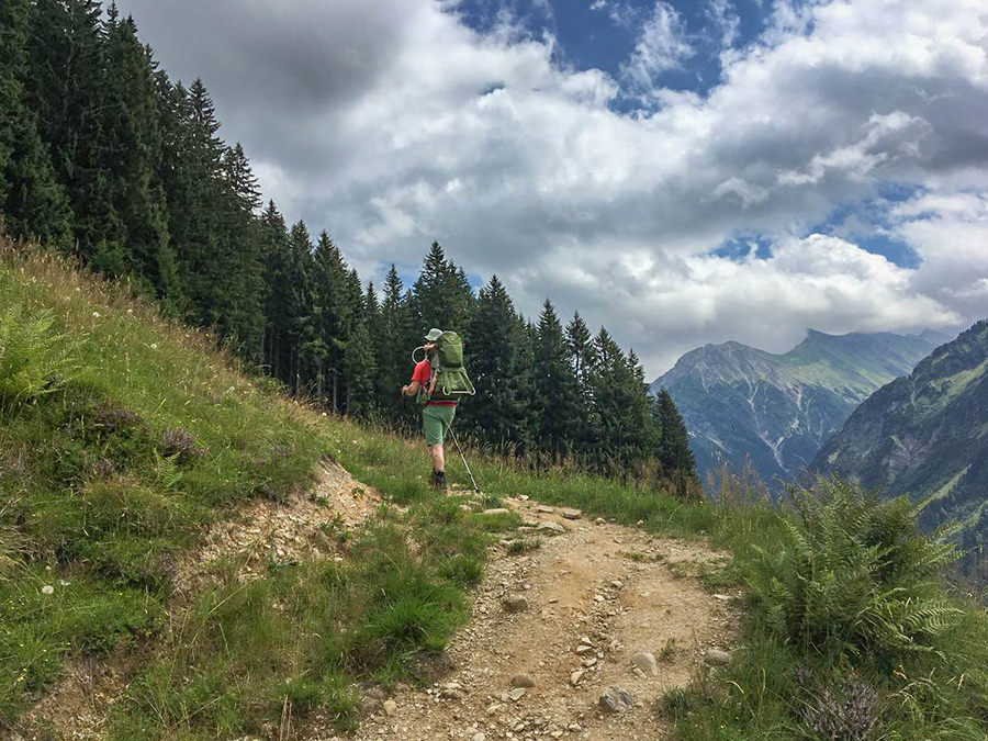 Wanderung zum Walmendinger Horn im Kleinwalsertal - Wandern