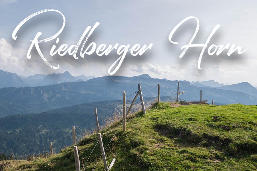 A Tasty Hike - Wandern zum Riedberger Horn im Allgäu Titel
