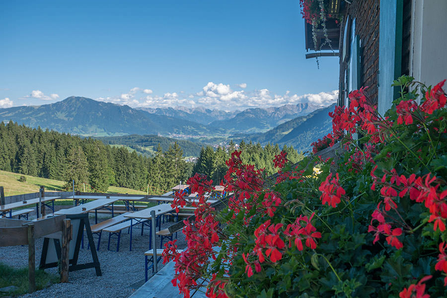 After Work Wandern am Alpsee im Allgaeu - Alpe