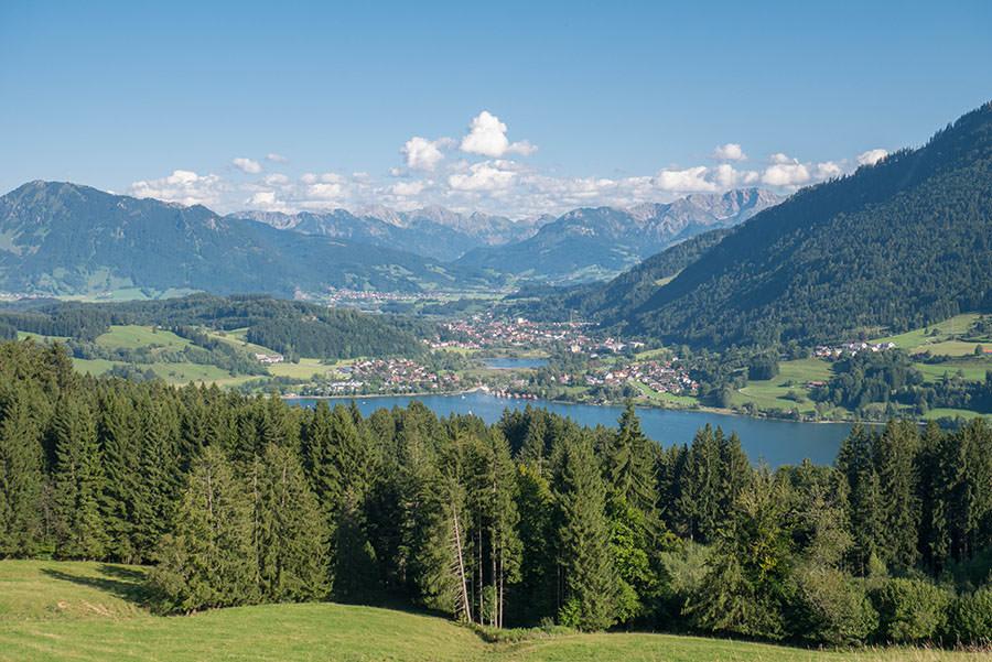 After Work Wandern am Alpsee im Allgaeu - Alpsee