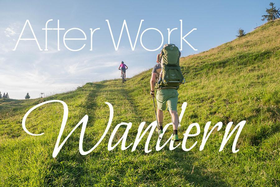 After Work Wandern am Alpsee im Allgaeu - Titel