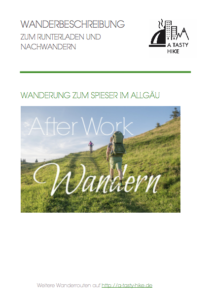 After Work Wandern am Alpsee im Allgaeu - Wanderbeschreibung
