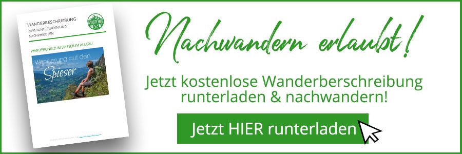 Banner kostenlose Wanderbeschreibung Spieser