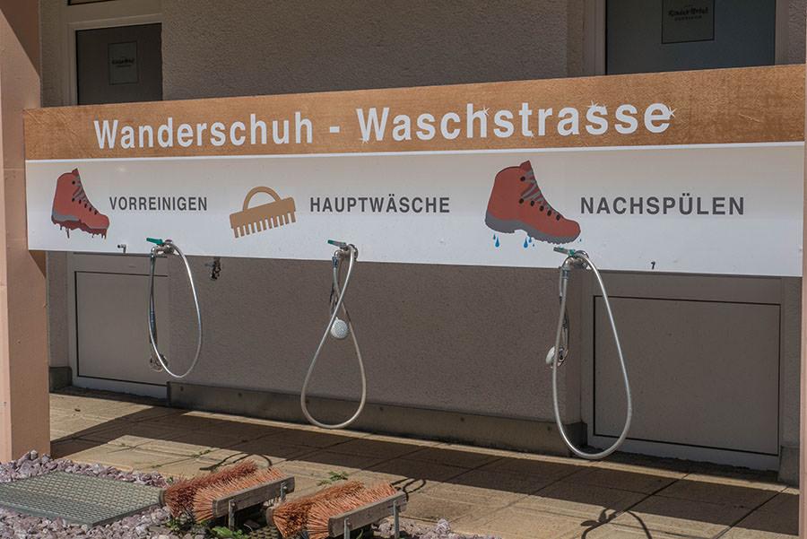 Oberjoch Wandern - Wanderung zum Spieser - Wanderschuh-Waschstrasse