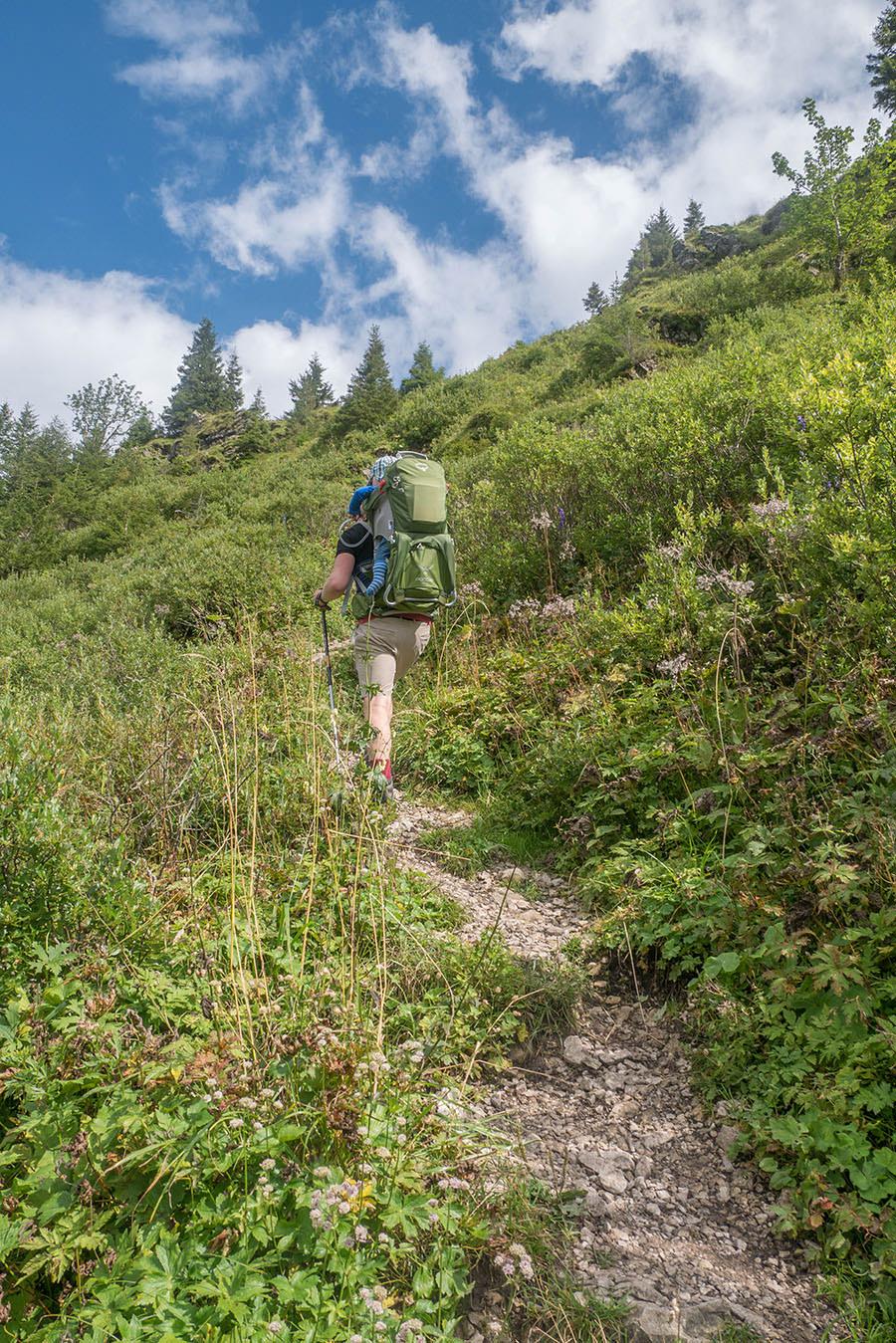 Oberjoch Wandern - Wanderung zum Spieser - zweiter Gipfel