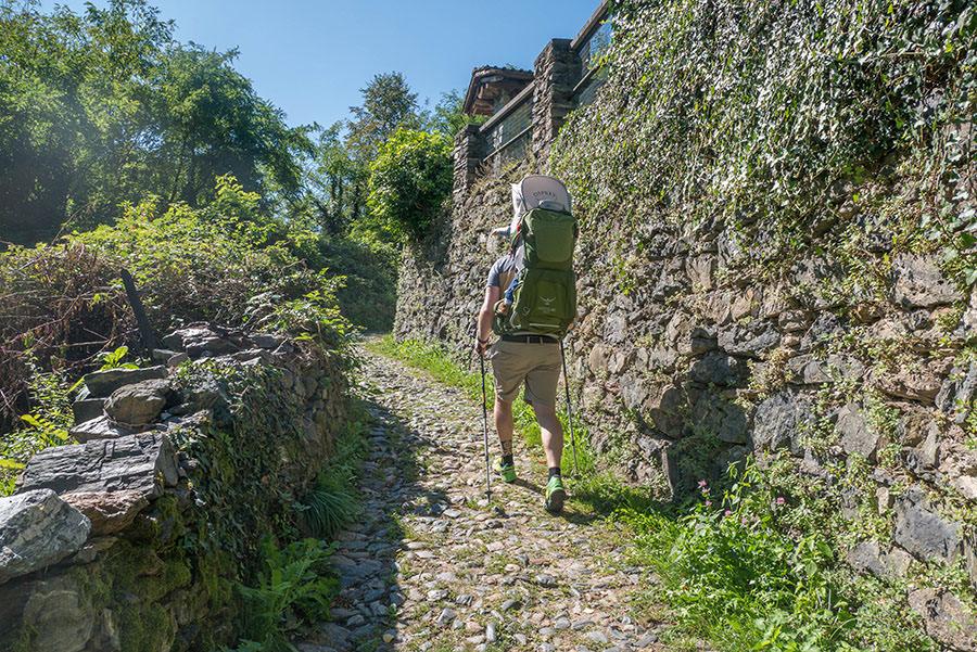 Wandern Gravedona - Christian