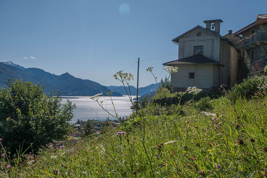 Wandern Gravedona - Stazzona