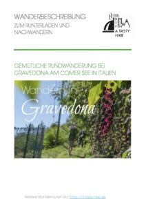 Wandern in Gravedona - Wanderbeschreibung