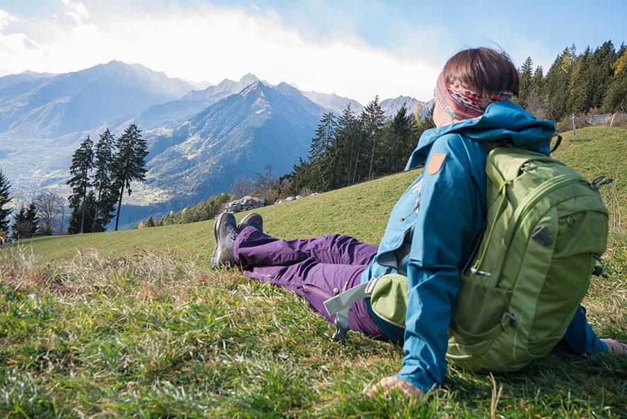 Wandern Taser in Suedtirol - Entspannen