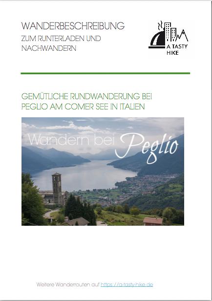 Wandern bei Peglio am Comer See - kostenlose Wanderbeschreibung