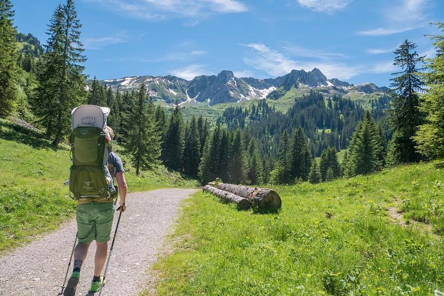 A Tasty Hike - Kulinarisches Wanderjahr 2017 - Wanderung Baergunttalhuette Kleinwalsertal