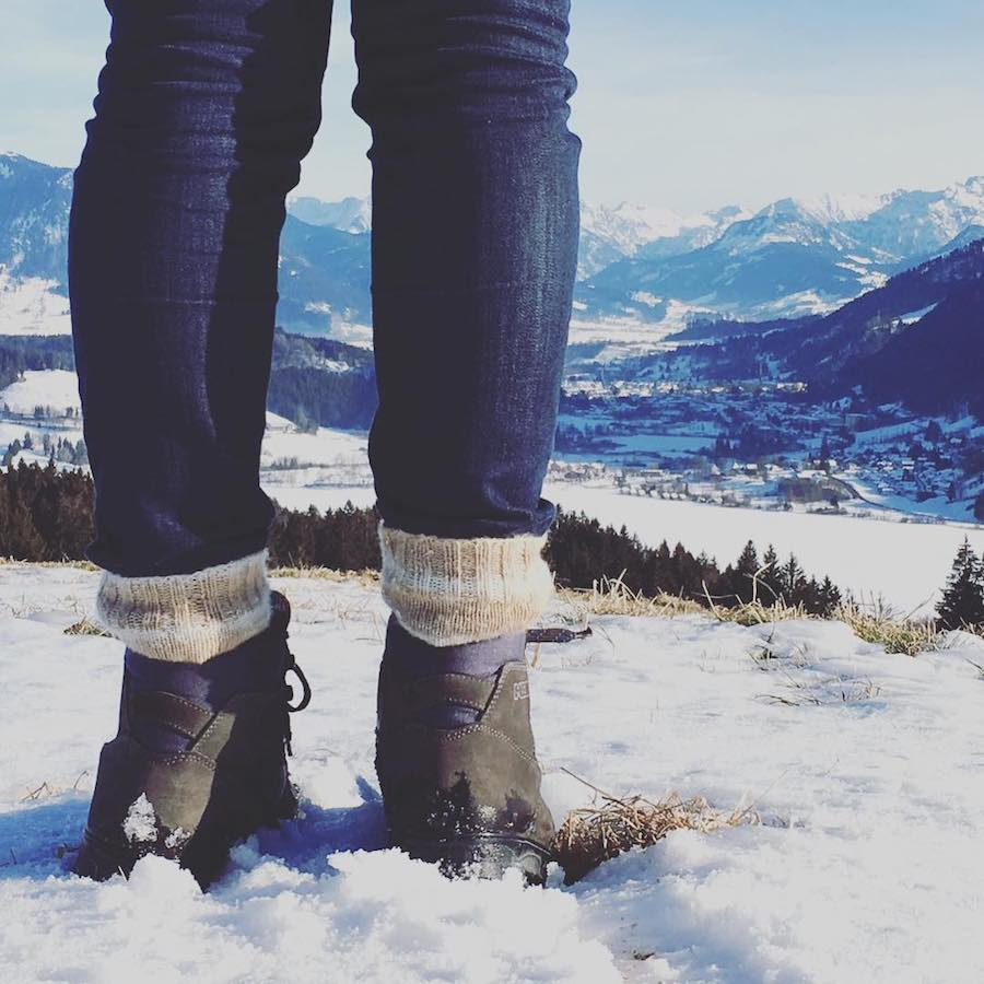 A Tasty Hike - Kulinarisches Wanderjahr 2017 - Winterwandern am Alpsee im Allgaeu