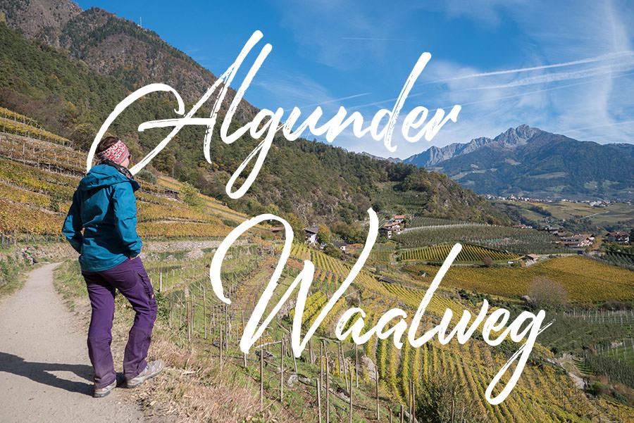 A Tasty Hike - Wandern Algunder Waalweg - Titel