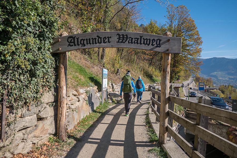 A Tasty Hike - Wandern Algunder Waalweg - Tor
