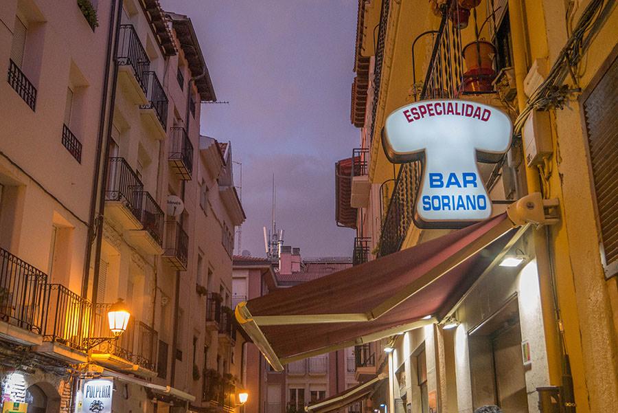 A Tasty Hike - Tapas Rioja - Die besten Tapas Bars in Logrono - Bar Soriano