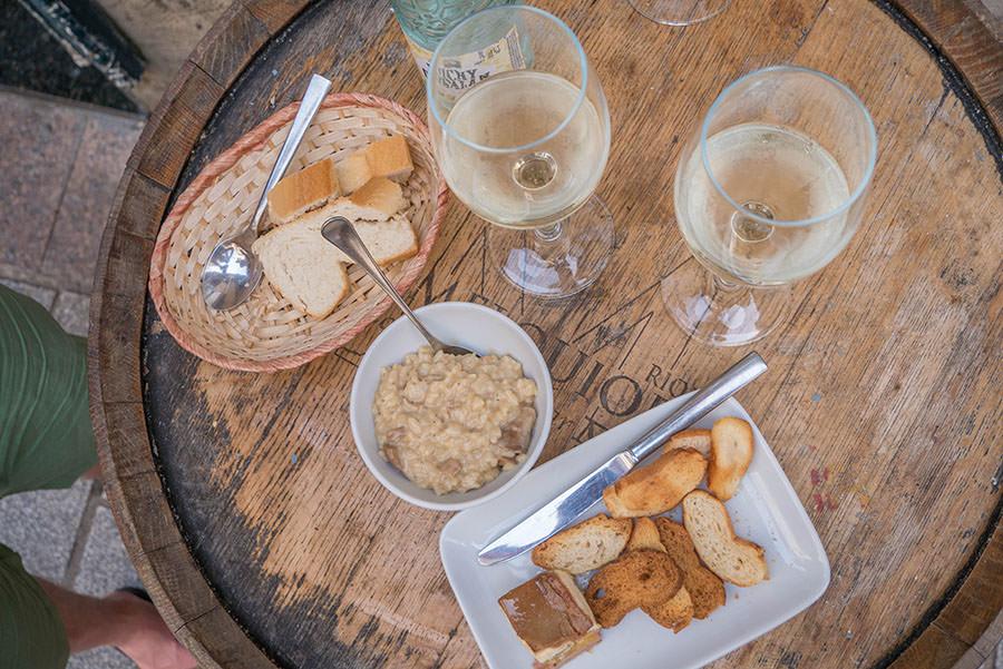 A Tasty Hike - Tapas Rioja - Die besten Tapas Bars in Logrono - Leber Tapas