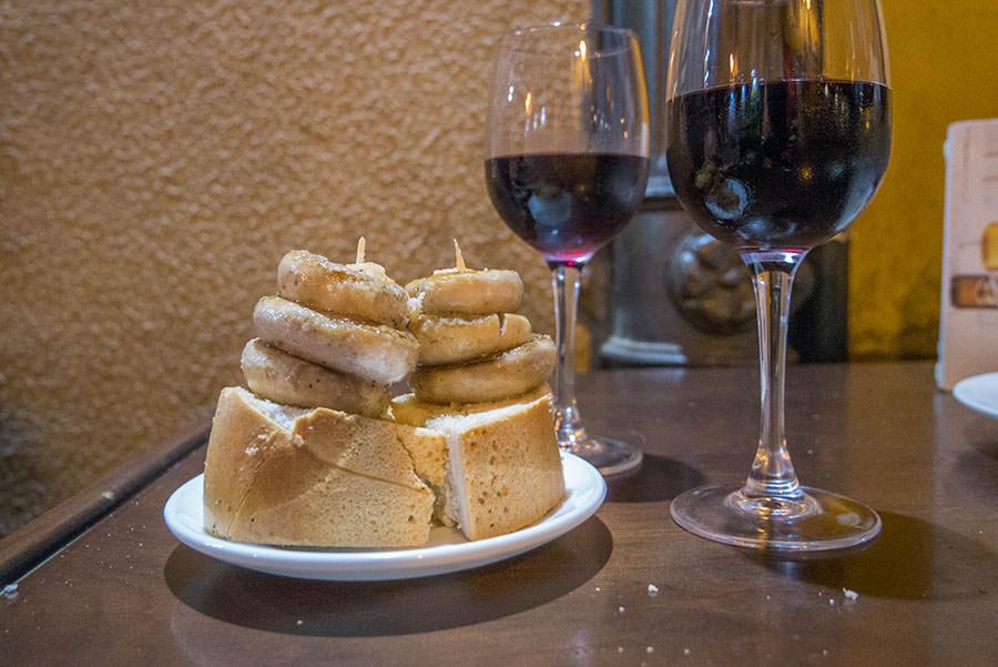 A Tasty Hike - Tapas Rioja - Die besten Tapas Bars in Logrono - Pilz Tapas Bar Soriano