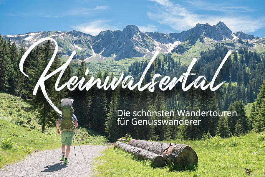 Wandern im Kleinwalsertal - Die schoensten Wandertouren fuer Genusswanderer A Tasty Hike