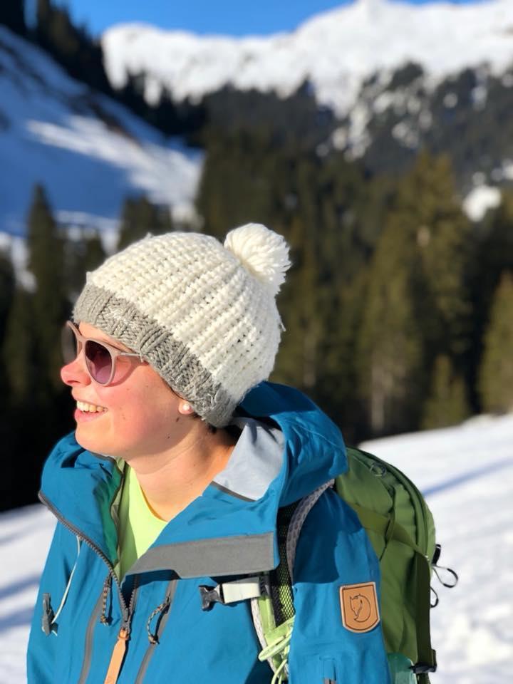 Wandern im Kleinwalsertal - Rundwanderung Baergunthuette - Winterwandern - Jana