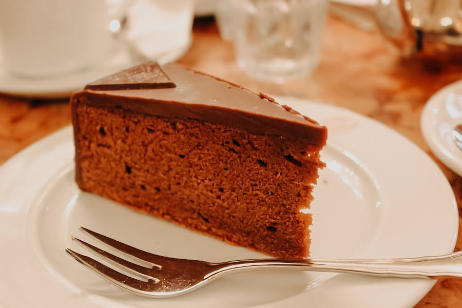 Beste Sachertorte in Wien - Cafe Demel