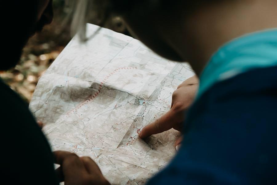 Wanderausruestung-fuer-Wanderanfaenger - Kartenmaterial