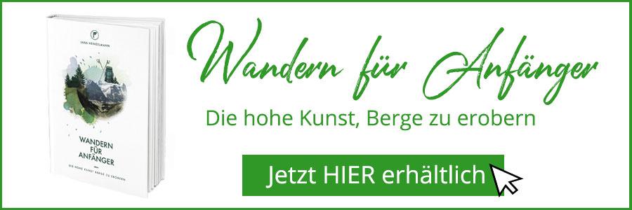 Wandern fuer Anfaenger Buch - Jana Heinzelmann - A Tasty Hike