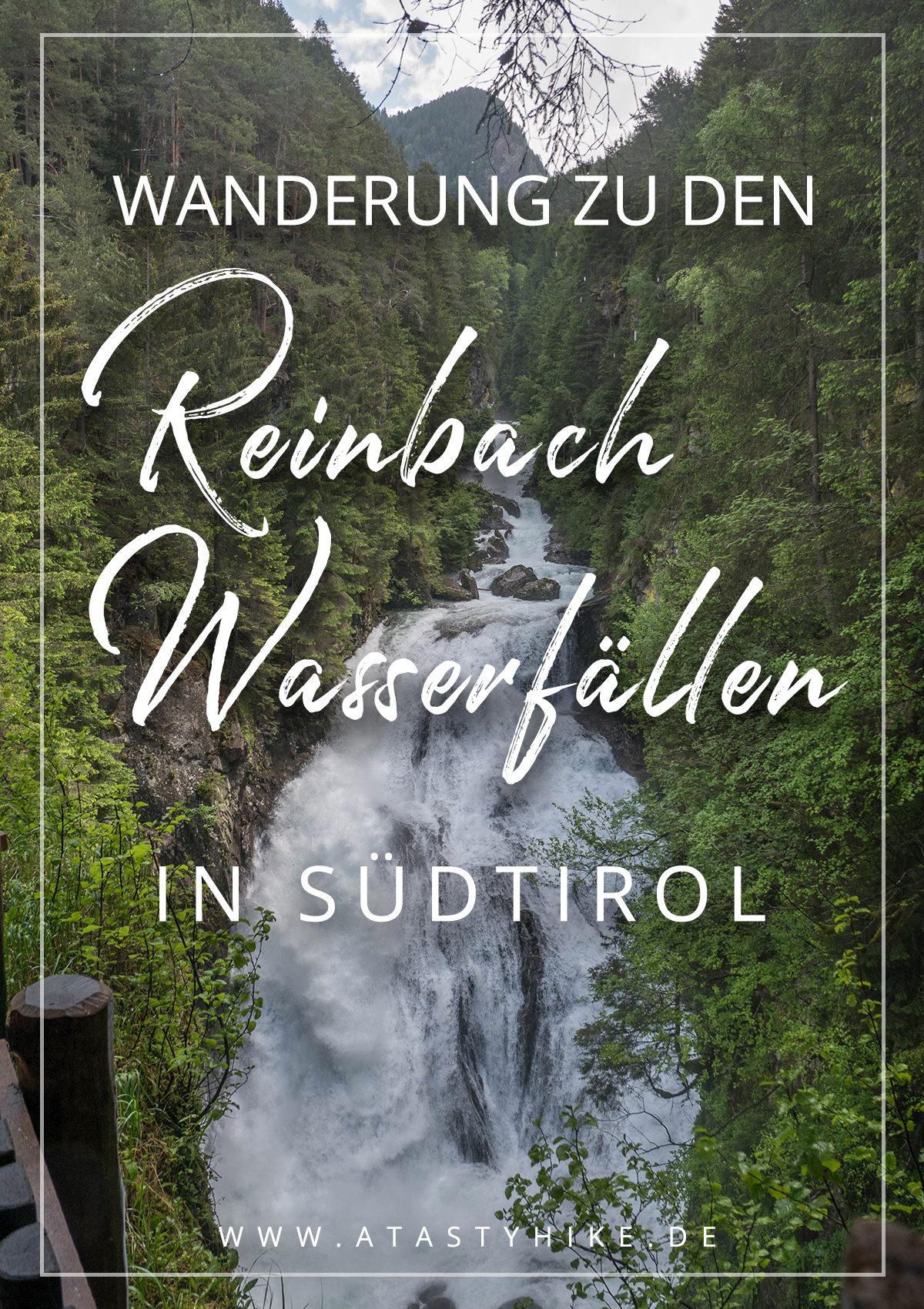 Reinbachfälle in Sand in Taufers in Südtirol - Tolle Wanderung zu den Reinbach Wasserfällen. Perfekt für Genusswanderer und Wanderanfänger! Wandern am Wasser! #Wandern #Wanderung #Südtirol