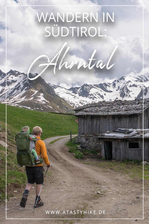 Wandern in Südtirol - im Ahrntal bei Kasern: Diese tolle Wanderung führt dich in eine tolle Bergwelt: Umgeben von 3000ern genießt du hier eine wundervolle Aussicht! Auch Genusswanderer kommen bei der Einkehr in der Tauernalm auf ihre Kosten! #Südtirol #Ahrntal #Wandern #Wanderung