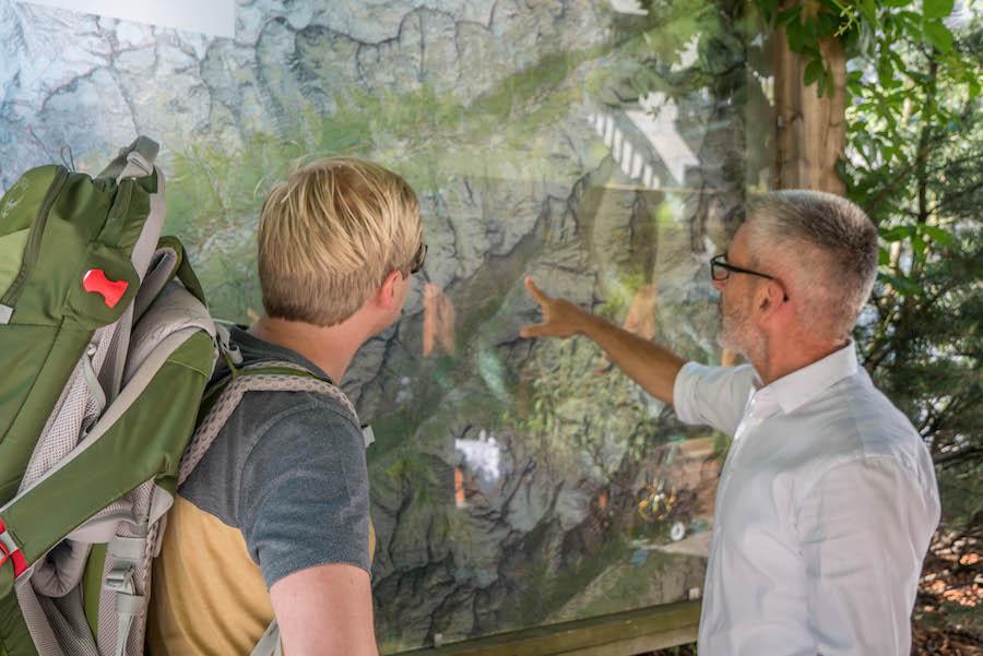 A Tasty Hike - Wanderung im Ahrntal Suedtirol bei Kasern - Routenplanung
