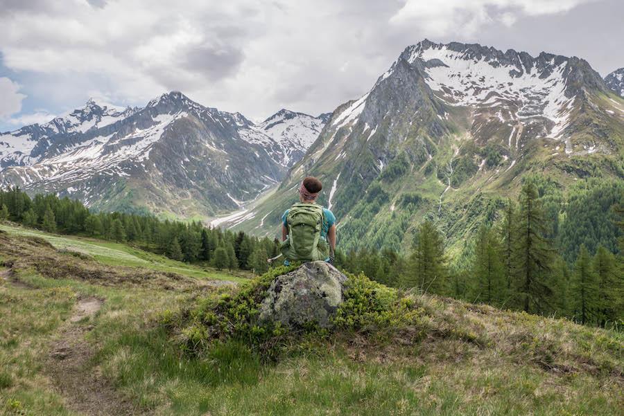 A Tasty Hike - Wanderung im Ahrntal Suedtirol bei Kasern - Titel