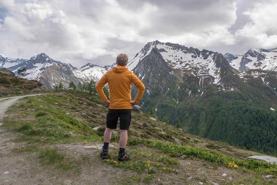 A Tasty Hike - Wanderung im Ahrntal Suedtirol bei Kasern - Warmer Fleece