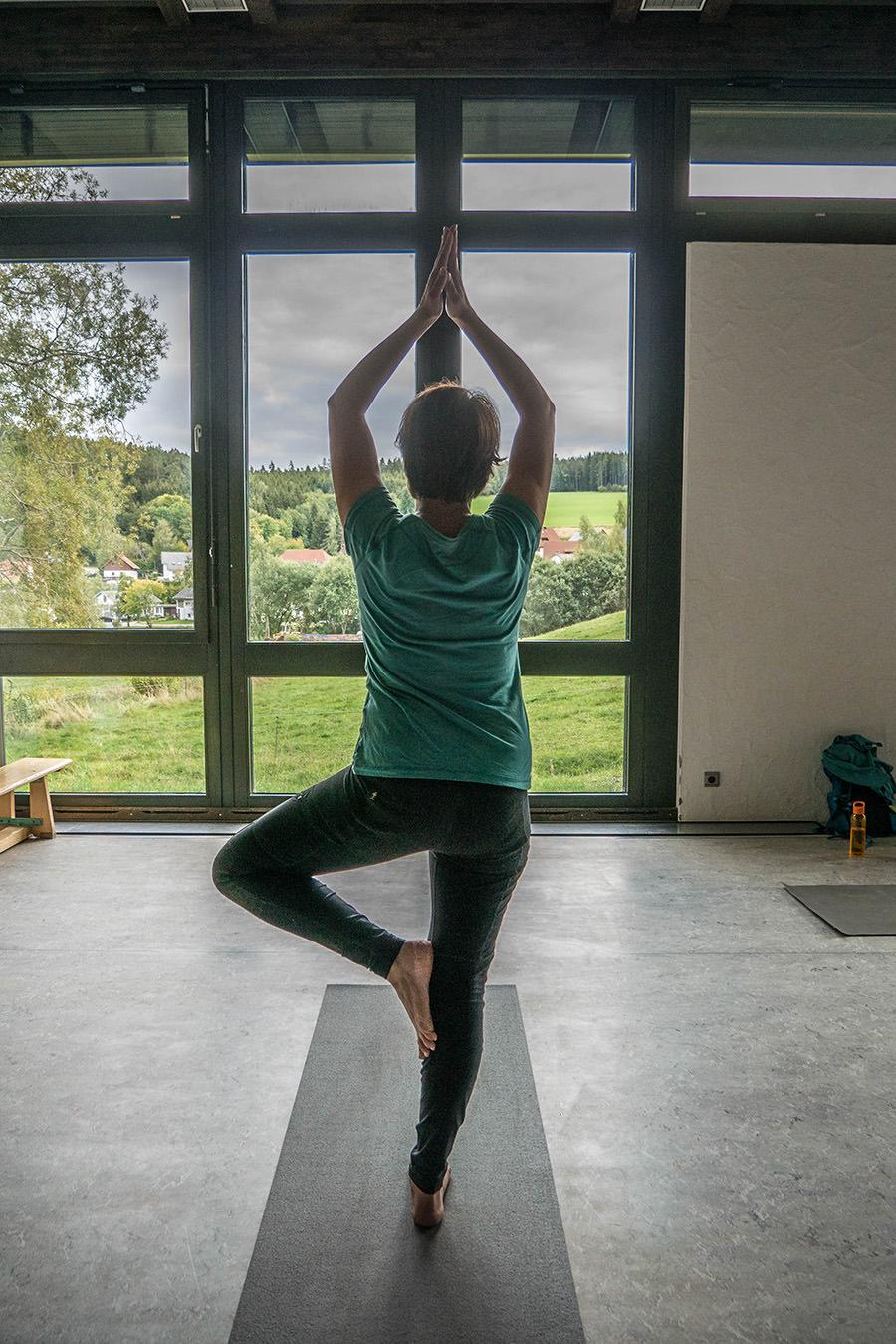 Wandern Schwarzwald - A Tasty Hike - Yoga