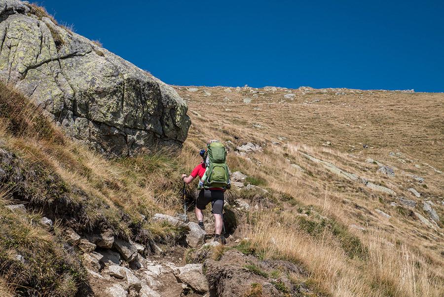 A Tasty Hike - Wanderung Kuhleitenhuette Meran 2000 - Anstieg Christian