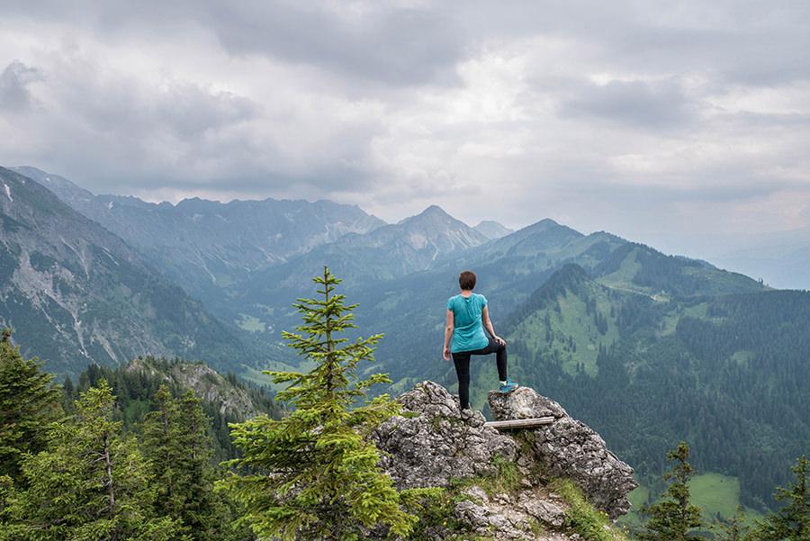 Bad Hindelang wandern - Wanderung zum Imberger Horn im Allgaeu - A Tasty Hike - Imberger Horn