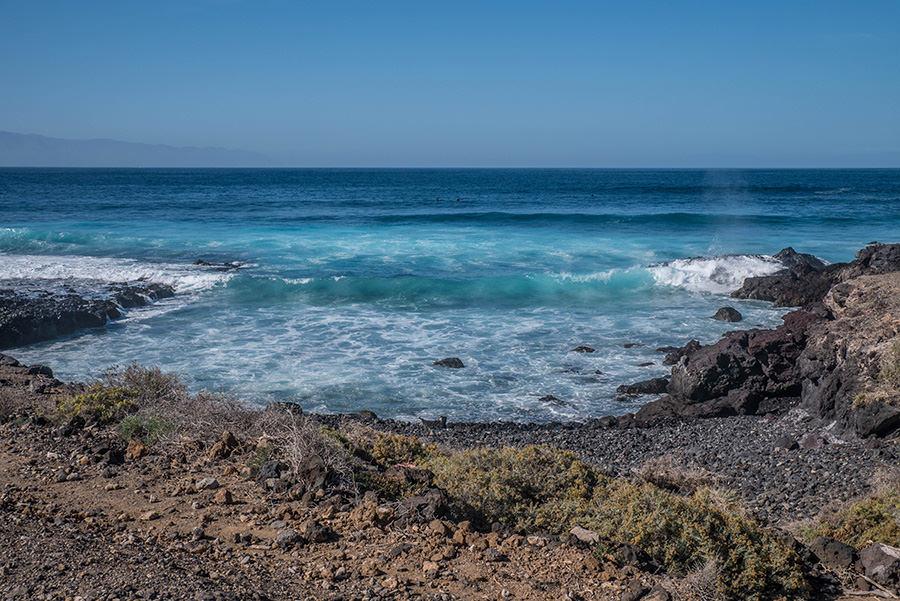 A Tasty Hike - Teneriffa Reisen - Kuestenspaziergang Playa de la Arena - Meer