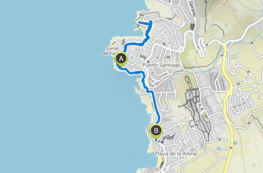 A Tasty Hike - Teneriffa Reisen - Kuestenspaziergang Puerto de Santiago