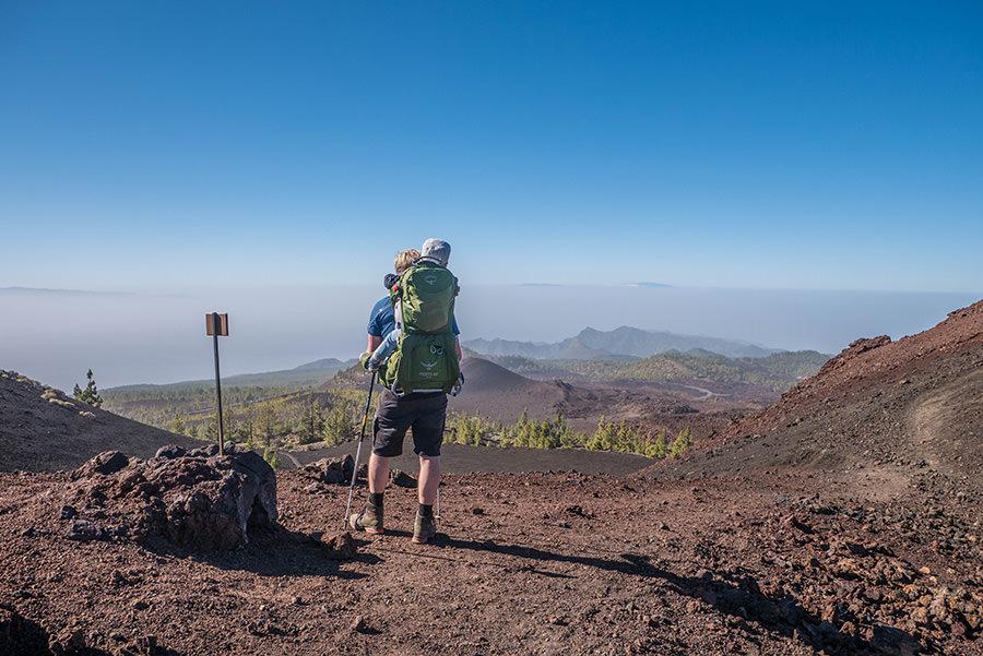 A Tasty Hike - Wandern auf Teneriffa - Montana Samara - Aussicht La Gomera und La Palma