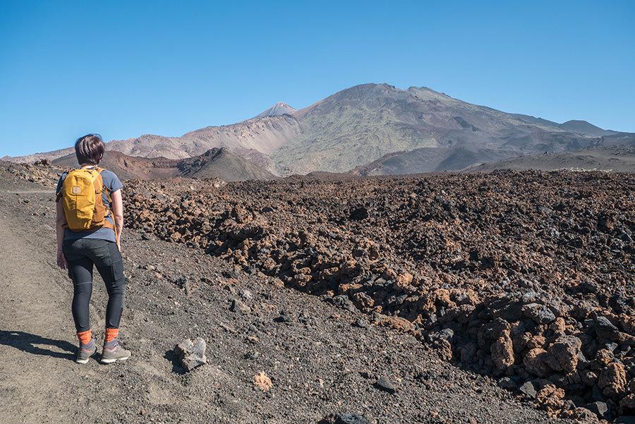 A Tasty Hike - Wandern auf Teneriffa - Montana Samara - Aussicht auf den El Teide