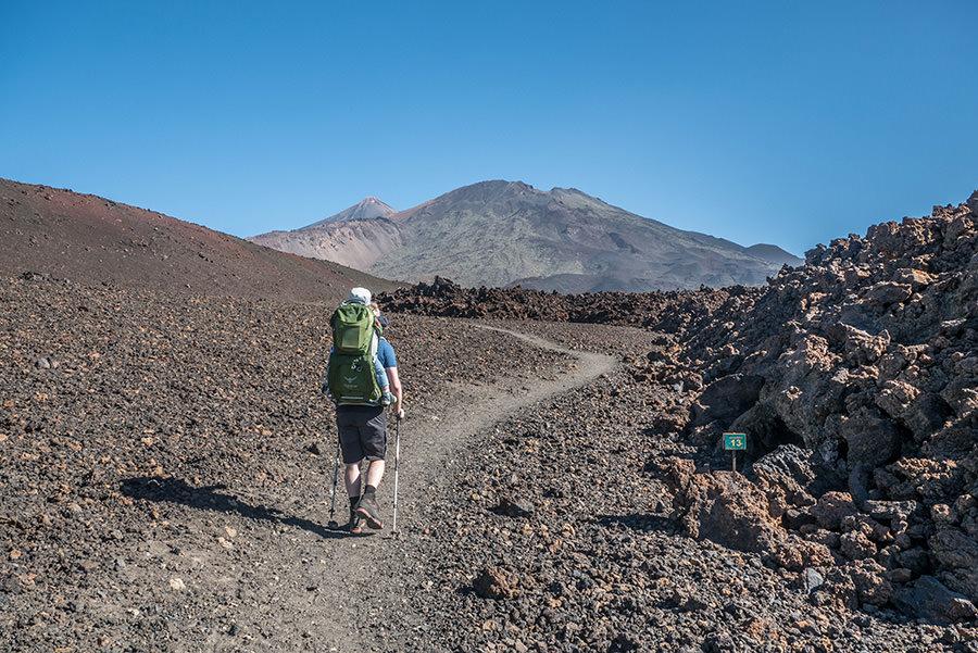 A Tasty Hike - Wandern auf Teneriffa - Montana Samara - Wandern durch Lavafelder
