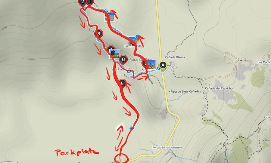 A Tasty Hike - El Teide Gipfel Teneriffa - Wanderung Roques de Garcia - Alternative Wanderroute