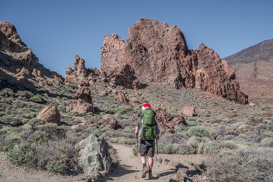 A Tasty Hike - El Teide Gipfel Teneriffa - Wanderung Roques de Garcia - Christian wandert